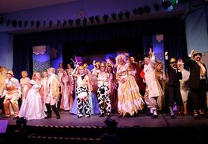 Amateur community theatre